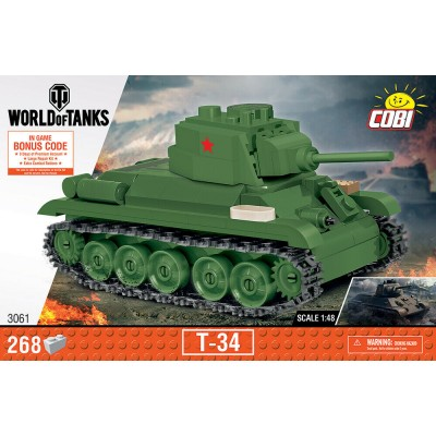 Конструктор Cobi Танк T-34 World of Tanks