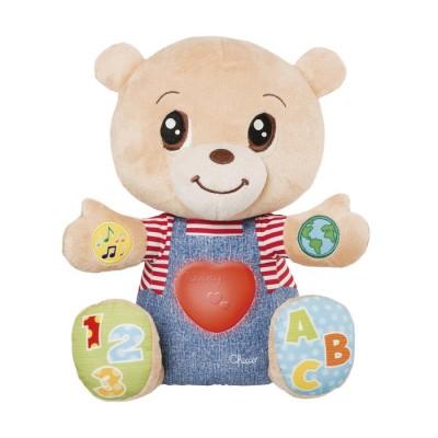 Игрушка мягкая CHICCO, музыкальная Говорящий Мишка Teddy Emotion