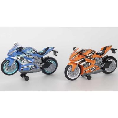 Игрушка Мотоцикл Street Moverz Teamsterz (свет, звук), 3+