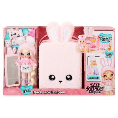 Игровой набор 3в1 Na! Na! Na! Surprise с куклой Обри Харт кролик