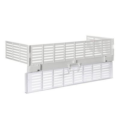 Защита на кухонную плиту с крышкой для выключателей Deluxe, прозрачная