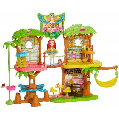 Тропическое кафе Enchantimals с куклой Пикки Какаду