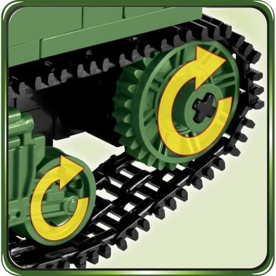 Конструктор Cobi Британский пехотный танк Валентайн МК.3