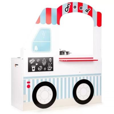 Детская деревянная кухня ECO TOYS Food truck 7260A