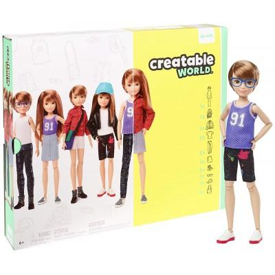 Кукла Шатенка Созидаемый мир Mattel GGG53 Creatable World