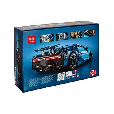 Lepin 20086 Bugatti Chiron синий (аналог Лего 42083)