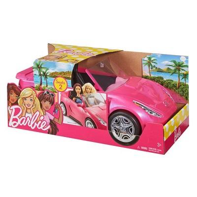 Гламурный розовый кабриолет Барби DVX59