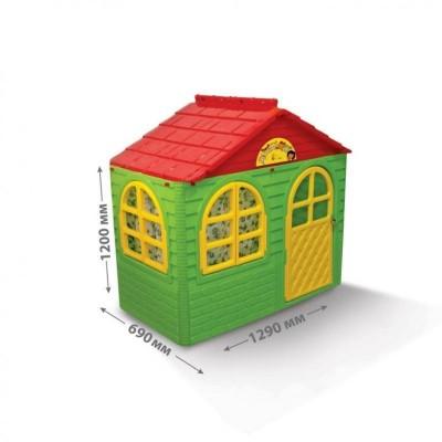 Детский домик Doloni № 1 зеленый
