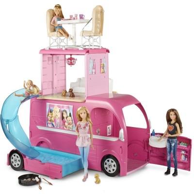 Фургон домик Барби для путешествий Mattel CJT42
