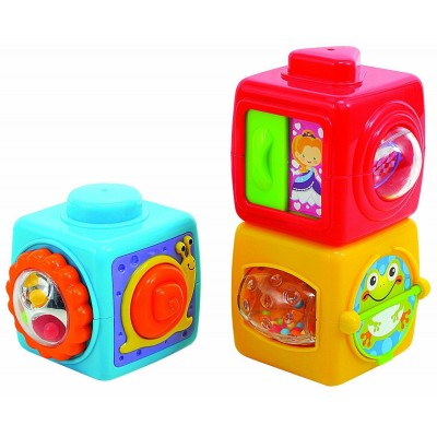 Развивающая игрушка Кубики Азбука PlayGo