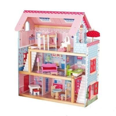 Деревянный кукольный домик Николь Wooden Toys