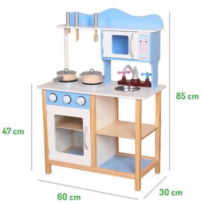 Детская деревянная кухня ECO TOYS TK040
