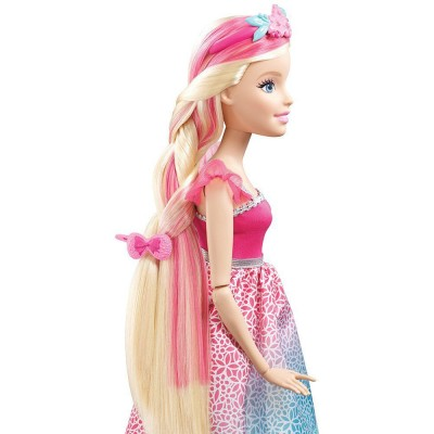 Принцесса Barbie серии Сказочные волосы DKR09 43 см