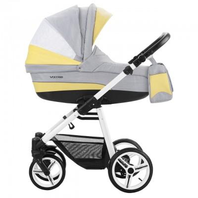 Детская коляска BEBETTO VULCANO 2 в 1 (ЭКО-КОЖА+ТКАНЬ)