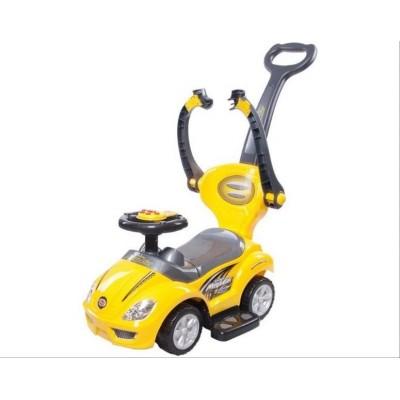 Детская каталка-машинка Mega Car Deluxe 3 в 1