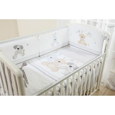 Детский постельный комплект «Венеция» 3 друга 6 предметов