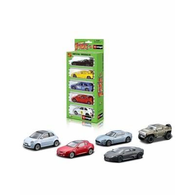 Набор из 5 автомобилей 1:43 Bburago