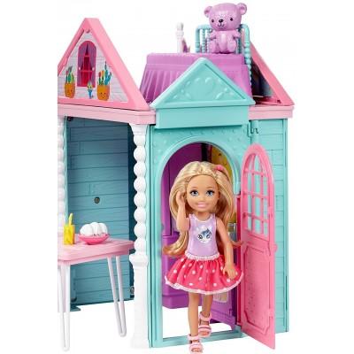 Кукольный домик Барби-челси DWJ50