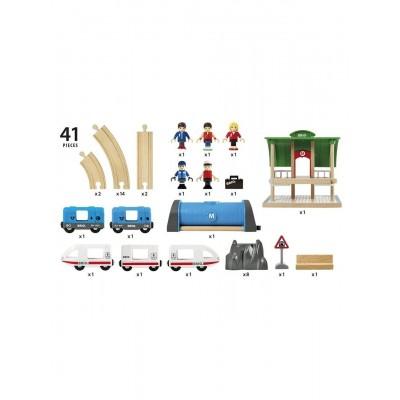 Деревянная железная дорога Пересадочная станция BRIO 33514