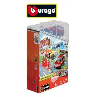 Игровой набор с машинкой 1:43 Bburago