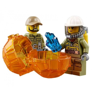 Lepin 02002 Грузовик исследователей вулканов (аналог Lego 60121)