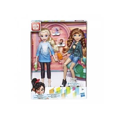 Набор кукол Анна и Эльза Ральф против интернета