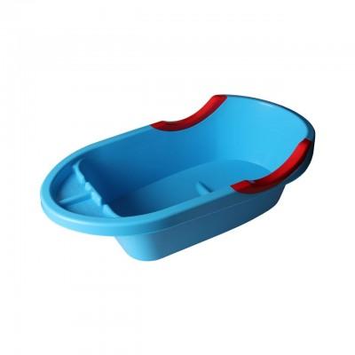 Ванночка детская большая Малышок Люкс синяя 91см