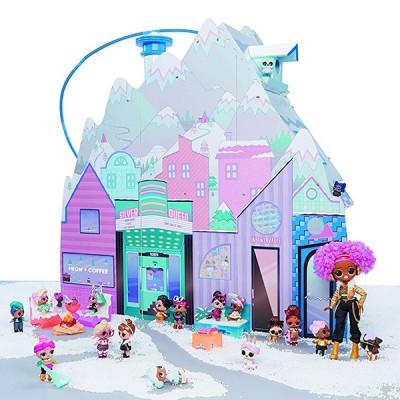 Зимний дом шале для кукол Лол купить в Минске - Lol Chalet Winter Disco