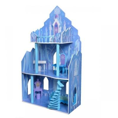 Кукольный деревянный домик ECO TOYS Lodowa