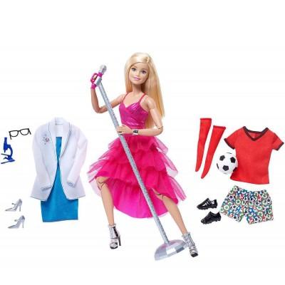 Кукла Барби Barbie Made To Move с аксессуарами
