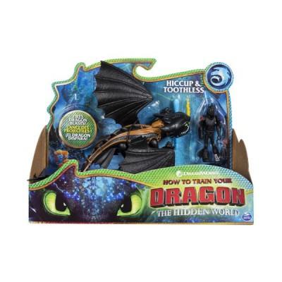 Игровой набор дракон Беззубик и фигурка Иккинга