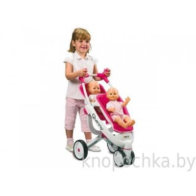 Коляска для куклы трехколесная Maxi-Cosi Quinny Smoby