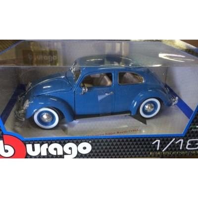 Машина VW Kafer Beetle Gold Bburago 1 к 18