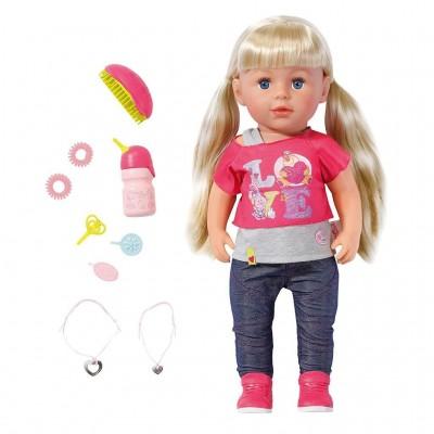 Интерактивная кукла Baby Born Сестричка 43 см Zapf Creation
