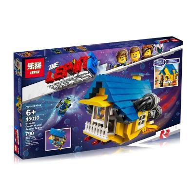 Lepin 45010 Дом мечты - Спасательная ракета Эммета (аналог Lego 70931)