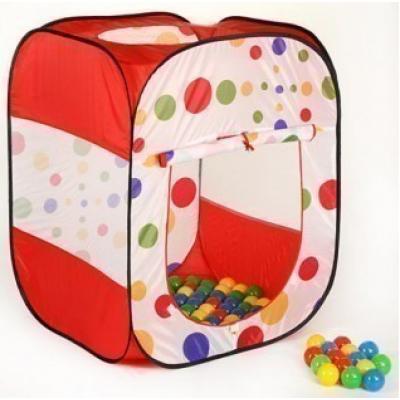 Детская игровая палатка с шарами 100 шт Calida 622