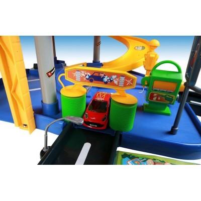 Паркинг Bburago 3х-уровневый с машинками