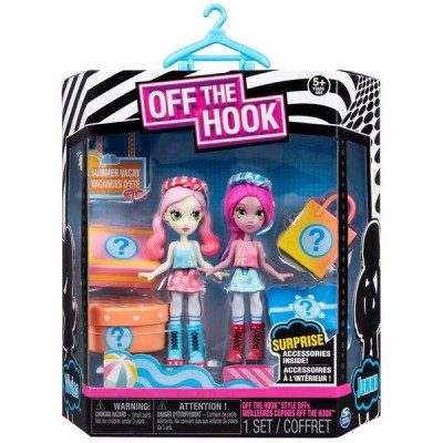 Набор кукол Off the Hook Вивьен и Дженни серия Летний отпуск