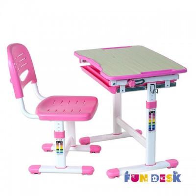 Растущая парта FunDesk Piccolino Pink