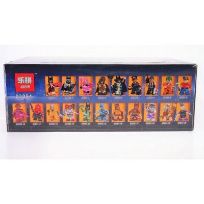 Lepin 03094 Набор 20 минифигурок Бэтмена (аналог Lego N)