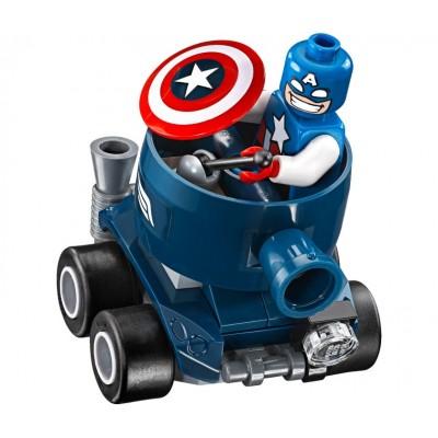 Lepin 07028 Капитан Америка против Красного Черепа
