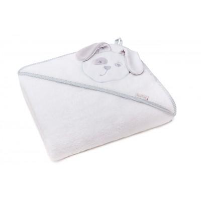 Детское полотенце с уголком Плитекс-с Зайка