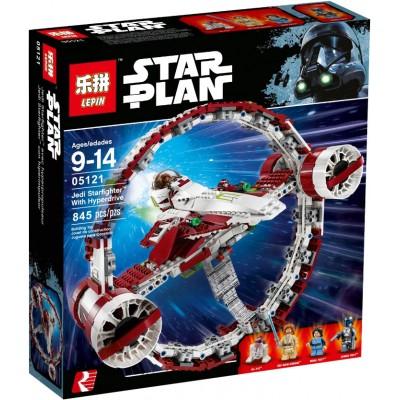 Lepin 05121 Звёздный истребитель джедаев с гипердвигателем (аналог Лего 75191)