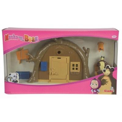 Игровой набор домик Мишки из м/ф Маша и Медведь