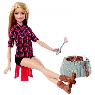 Кукла Барби Отдых у костра Barbie FDB44