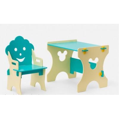 Комплект столика со стульчиком Гномик