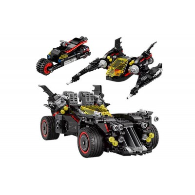 Lepin 07077 Крутой Бэтмобиль (аналог Lego 70917)
