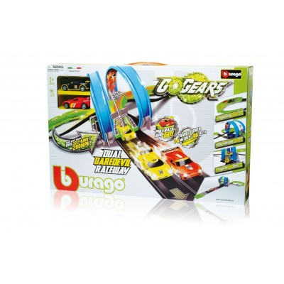 Гоночный трек с машинками Go gear Bburago