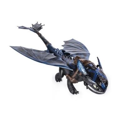 Большой дракон Беззубик 50 см (дышит огнем)