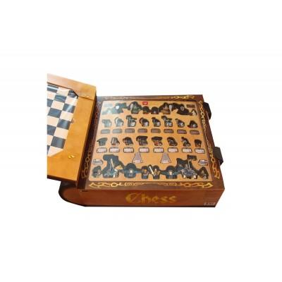 Lepin 16019 Гигантские Шахматы Замка Хогвартс (аналог Lego 852293)